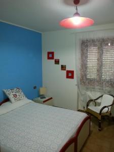 camera rossa letto